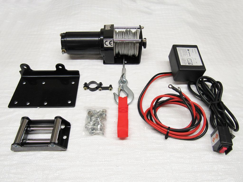 12V 3000LB Electric Recovery Winch - Trailer Truck Boat ATV Car Van Wired Remote